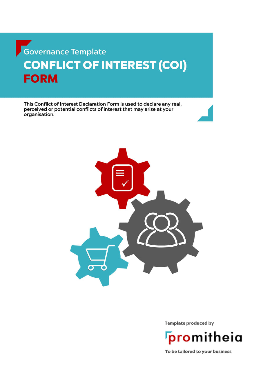 Conflict of Interest (COI) Declaration Form
