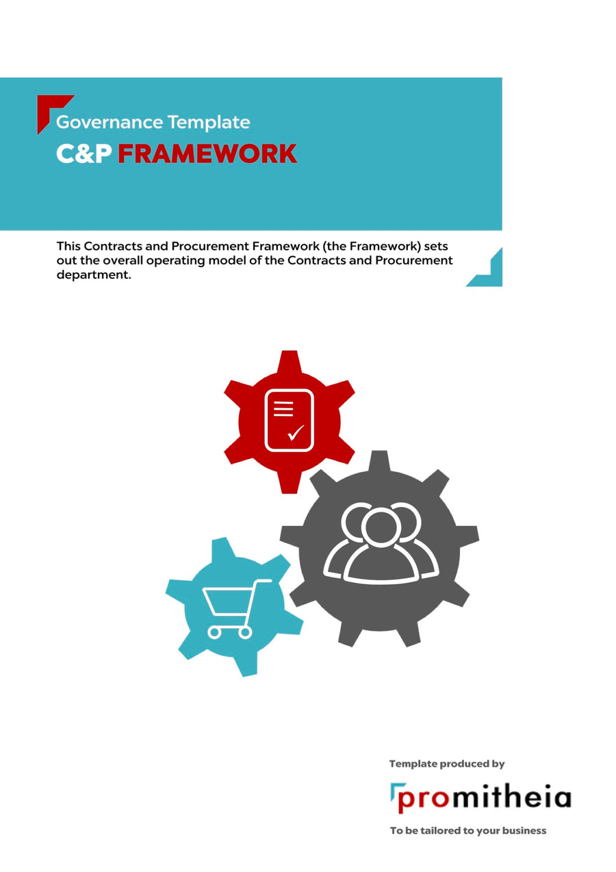 Contracts and Procurement Framework