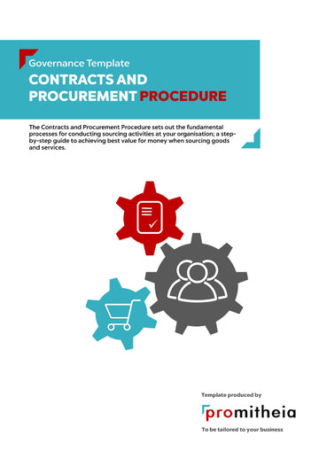 Contracts and Procurement Procedure
