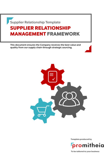 Supplier Relationship Management (SRM) Framework
