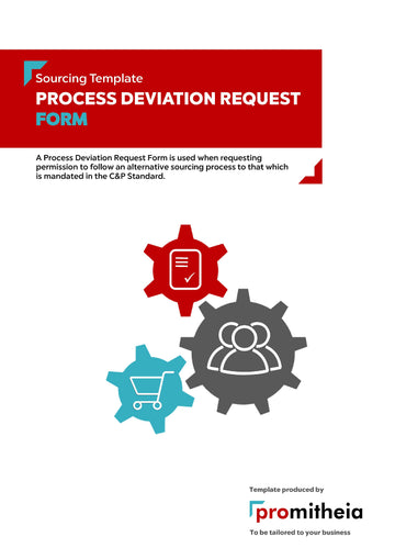 Process Deviation Request Form