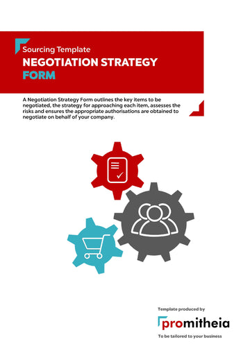 Negotiation Strategy Form