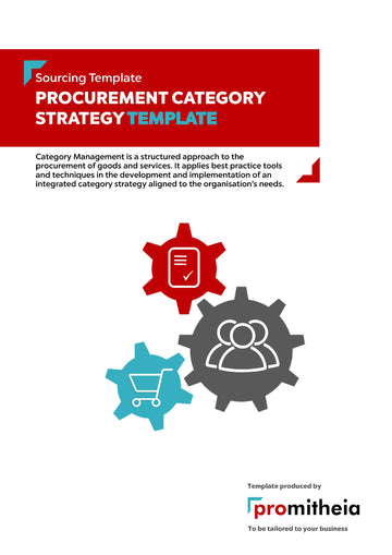 Procurement Category Strategy Template