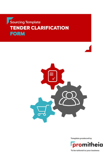 Tender Clarification Form