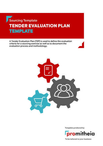 Tender Evaluation Plan Template
