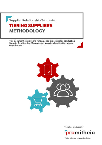 Tiering Suppliers Methodology (the Procedure)