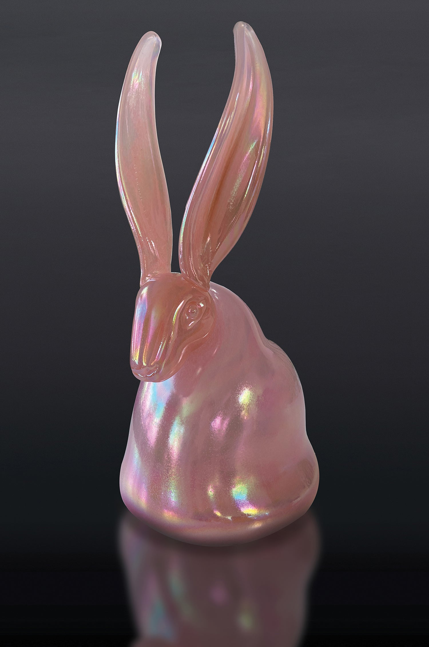Coral Pink Bunny