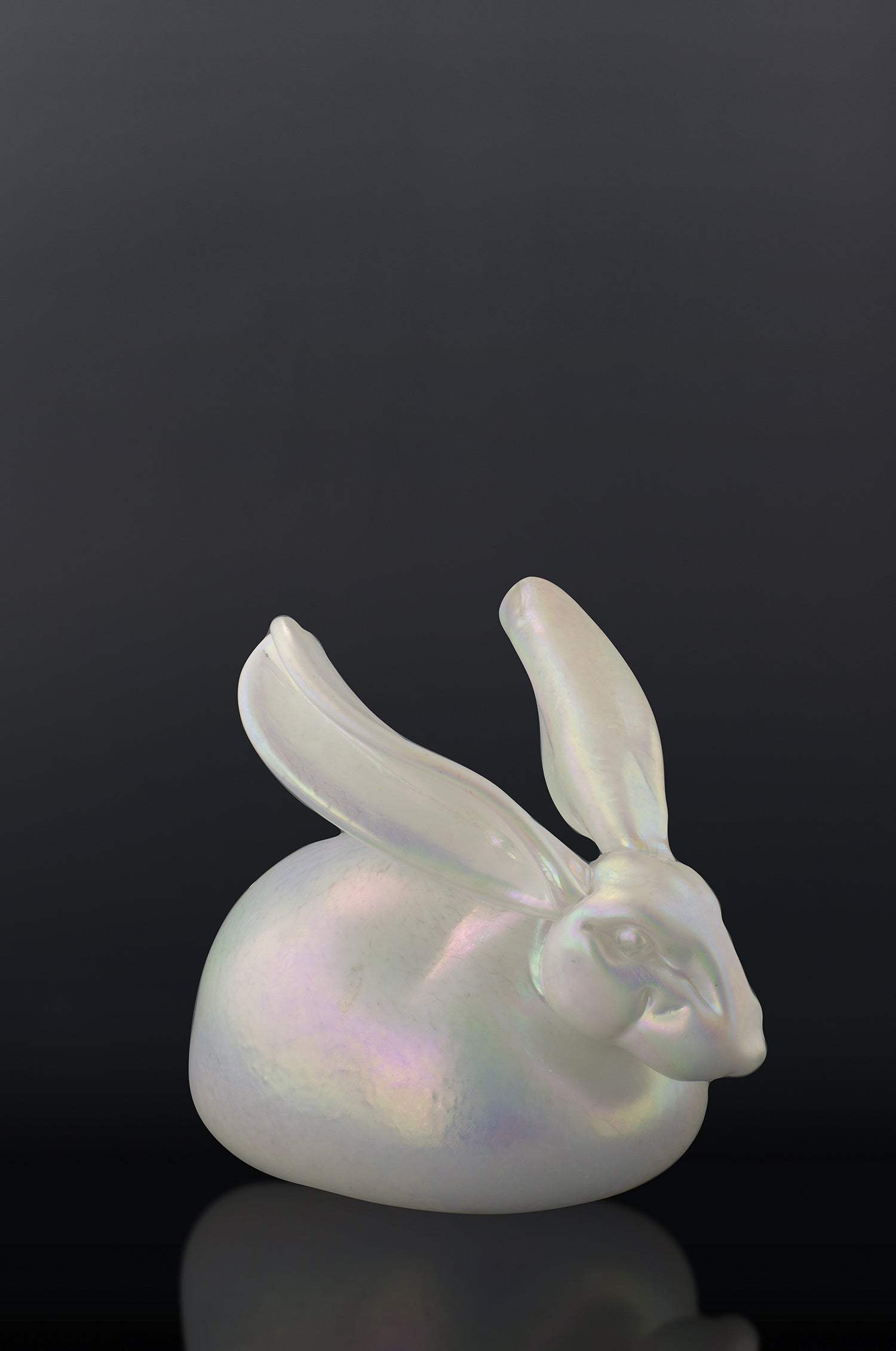 Pearl White Bunny