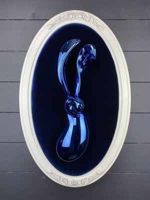 Blue Chrome Bunny