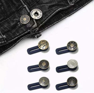 Bouton Jeans rétractables(5PCS)