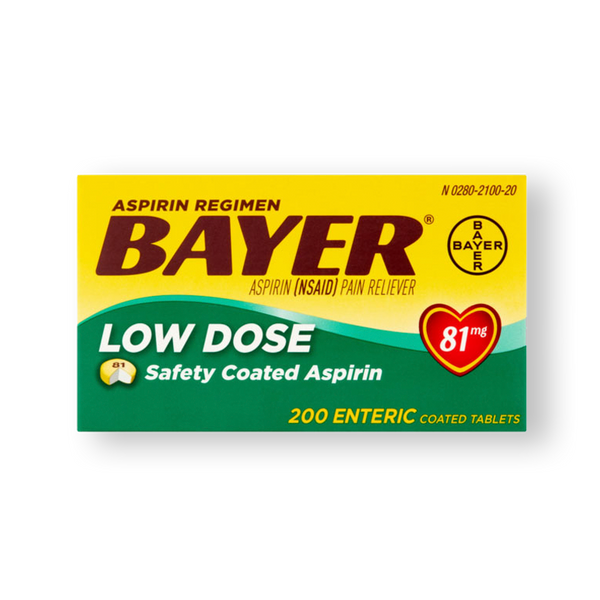ASPIRINA BAYER 81 MG 200 TABS