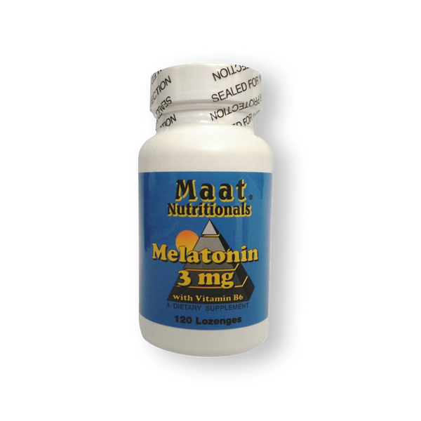 MELATONIN 3MG MAAT 120 COMPRIMIDOS SUBLINGUALES.