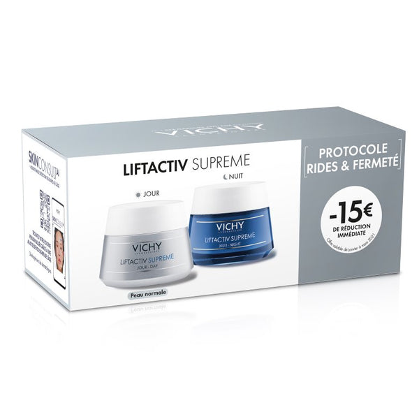 VICHY DUO LIFTACTIV SUPREME PIEL NORMAL MIXTA DUO JOUR + NUIT