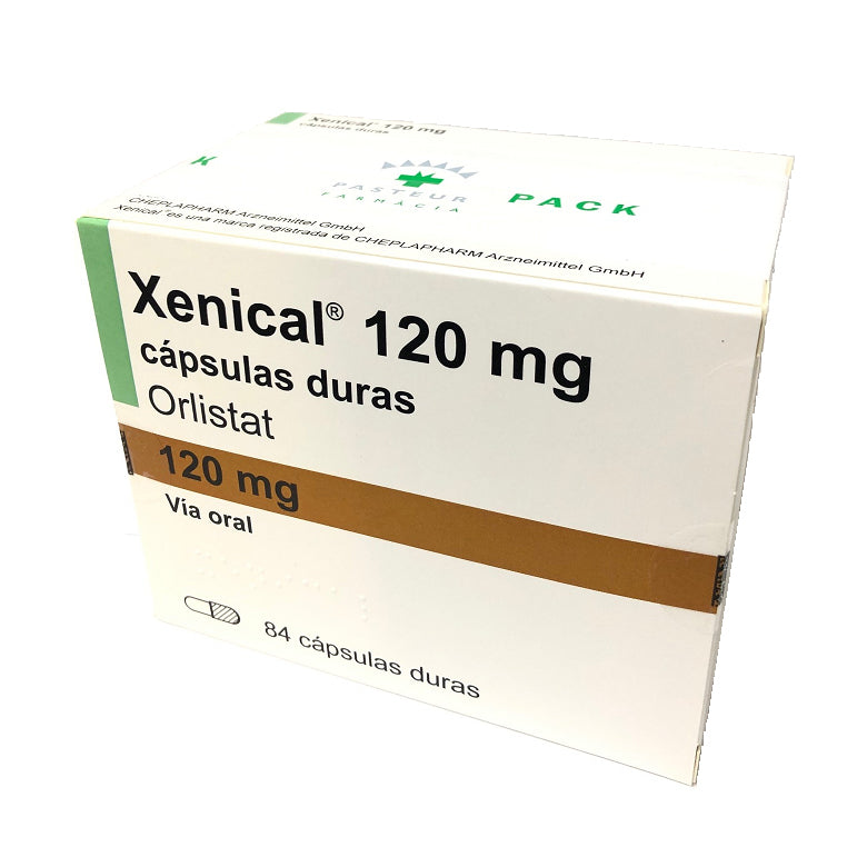 DUO XENICAL 120 MG 84 CÁPSULAS
