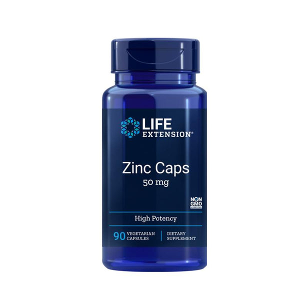 LIFE EXTENSION ZINC CAPS 50MG 90 VCAPSULES
