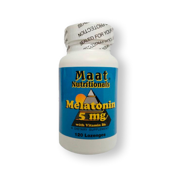MELATONIN 5MG MAAT 120 COMPRIMIDOS SUBLINGUALES.