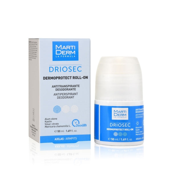 MARTIDERM DRIOSEC ROLL-ON AXILAS/INGLES DERMOPROTECT 50 ml