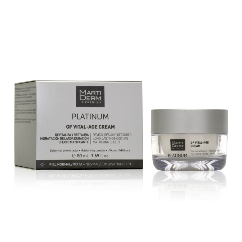 MARTIDERM PLATINUM  GF VITAL-AGE CREAM PIEL NORMAL / MIXTA 50 ML