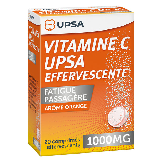 VITAMINA C UPSA 1000 mg 20 COMPRIMITS EFERVESCENTS