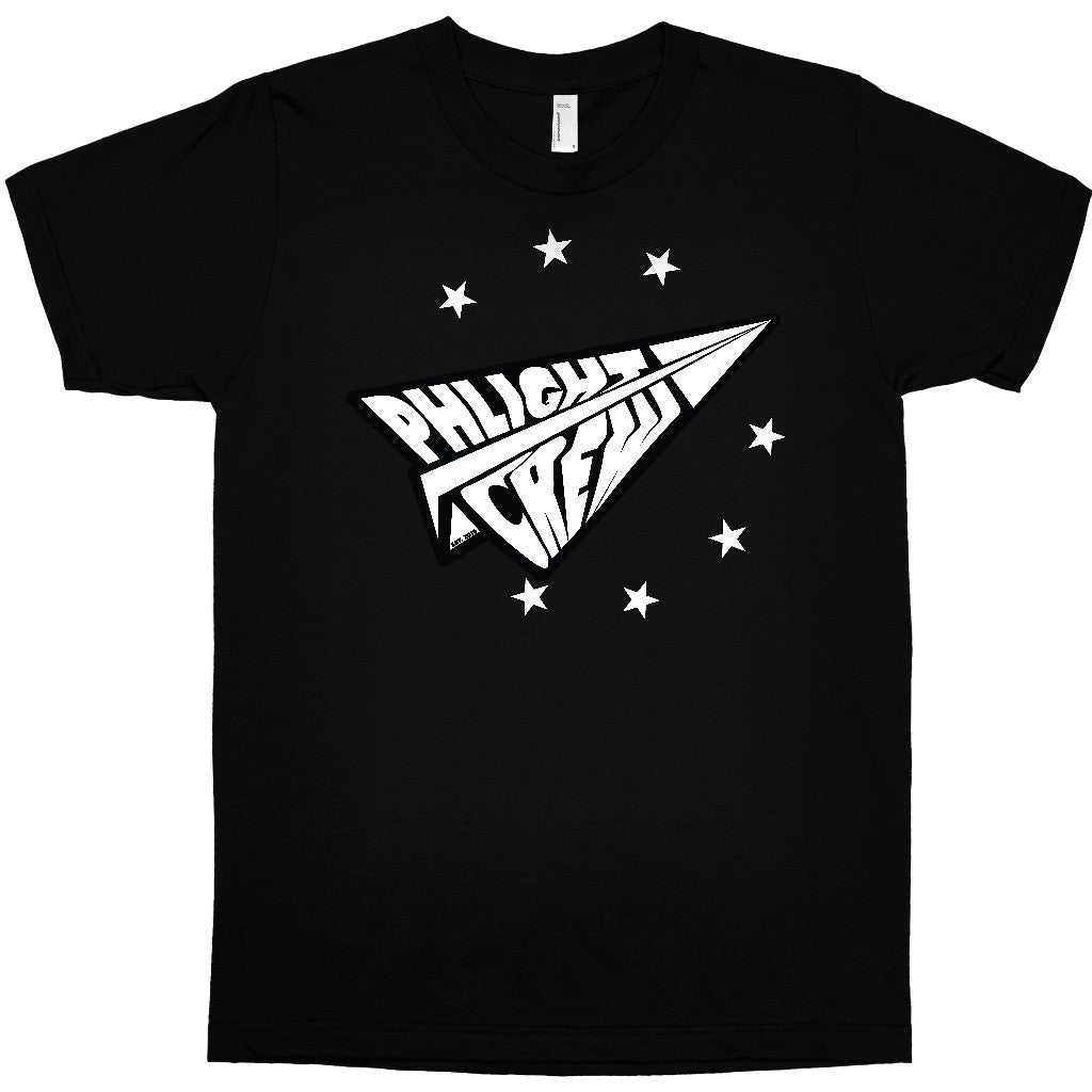 Phlight Crew Black T-shirt