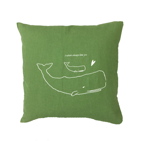 Whale pillow (More colors)