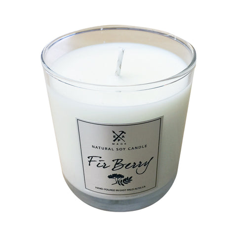Firberry soy candle