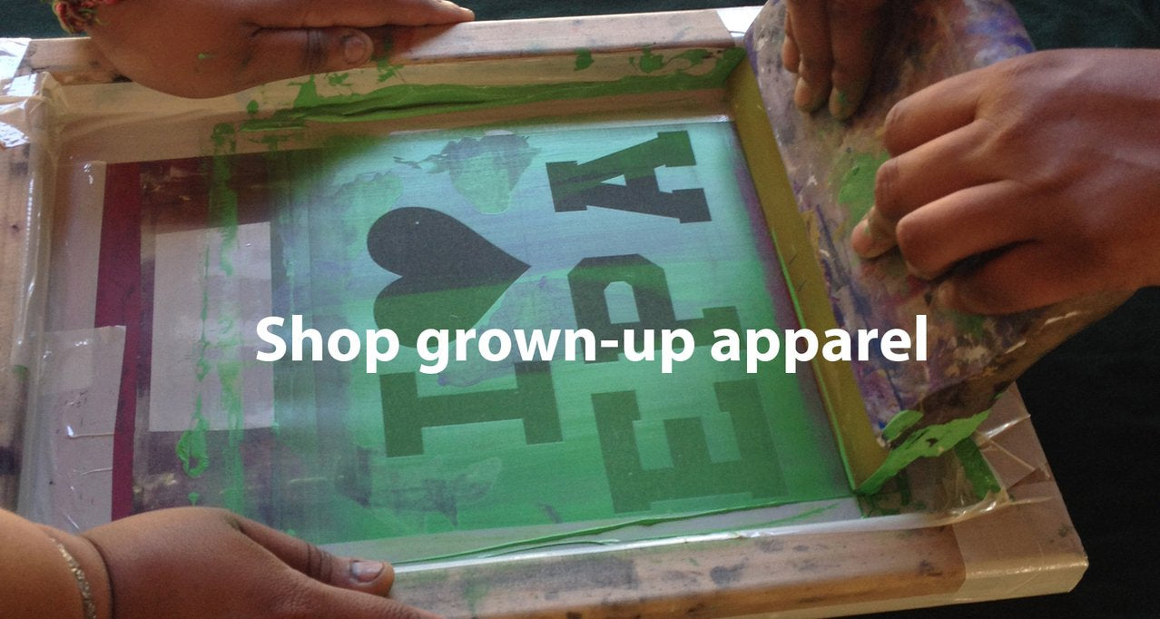 Grownup apparel