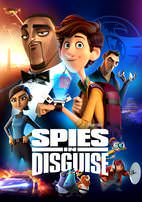 Spies in Disguise (HD or UHD) - uvcodesforsale