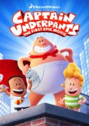 Captain Underpants: The First Epic Movie (HD/UV) - uvcodesforsale