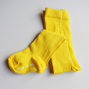 Block tights - sunflower yellow