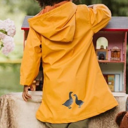 Puddle Duck Kids Raincoat - Ochre