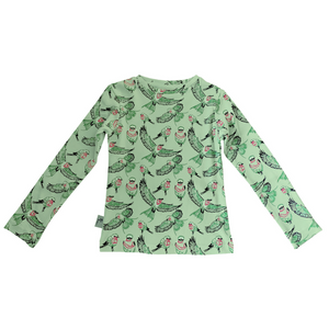Organic long sleeve t-shirt - Bird