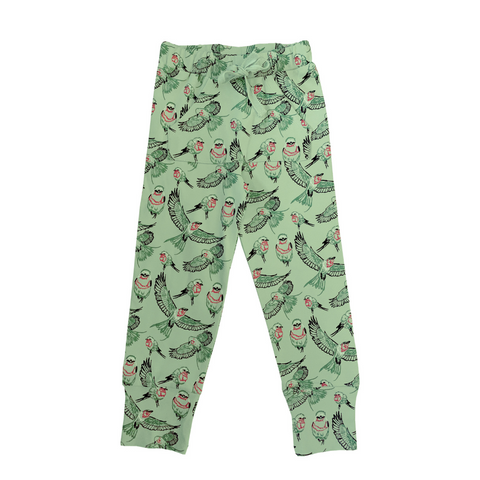 Organic jog pants - Bird