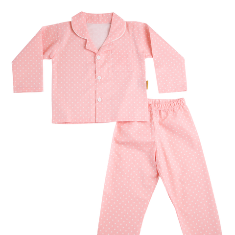 Organic Cotton PJs - Pink