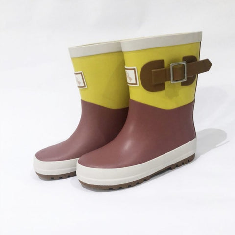 Wellington Boot - Rhubarb & Custard