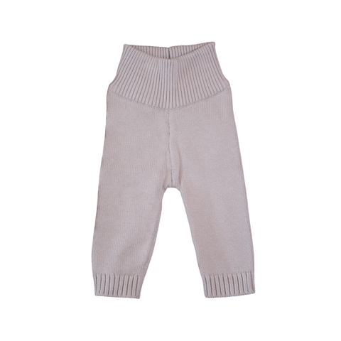Organic Cotton Trousers - Dove Grey