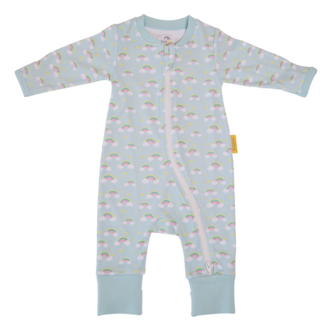 Rainbows organic cotton babygro
