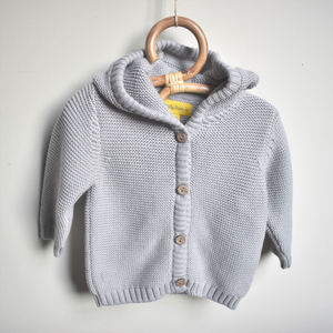 Organic Cotton Hoodie - Dove Grey