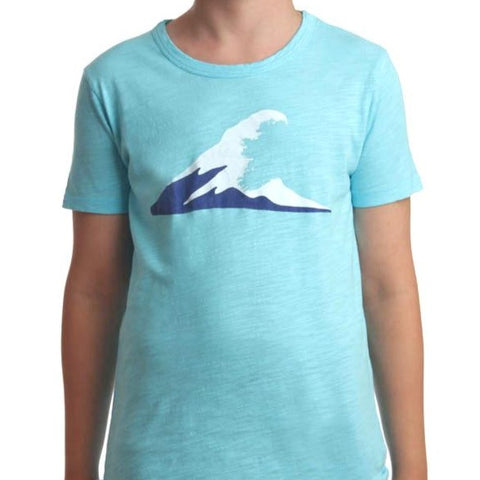 Wave T-shirt Turquoise
