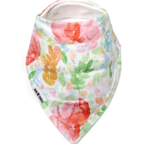 Bandana bib - summer bloom