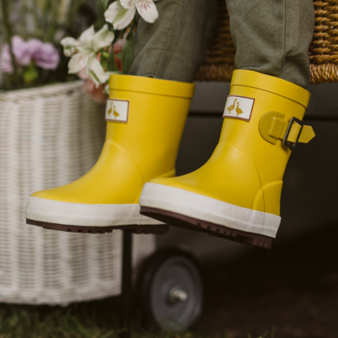 Wellington Boot - Mustard (limited sizes available)