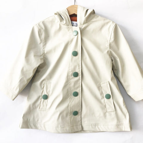 Puddle Duck Kids Raincoat - Stone (only 4-5 left)