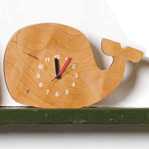 Whale of a Time Clock