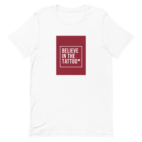 Believe in the Tattoo T-Shirt - ARTTOO.Shop