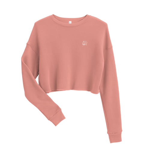 Chrysantheme Crop-Sweater - ARTTOO.Shop