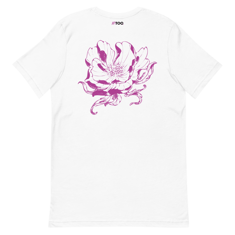 Chrysantheme Purple T-Shirt - ARTTOO.Shop