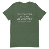 Spontaneous Tattoos T-Shirt - ARTTOO.Shop