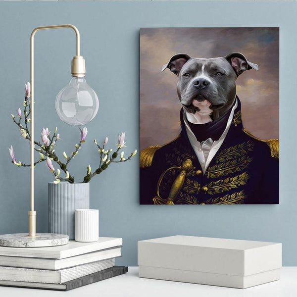 The Duke - Custom Pet Canvas - The Zulu Pet Co