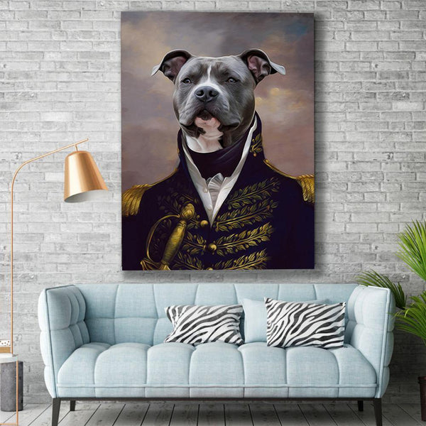 The Duke - Custom Pet Canvas