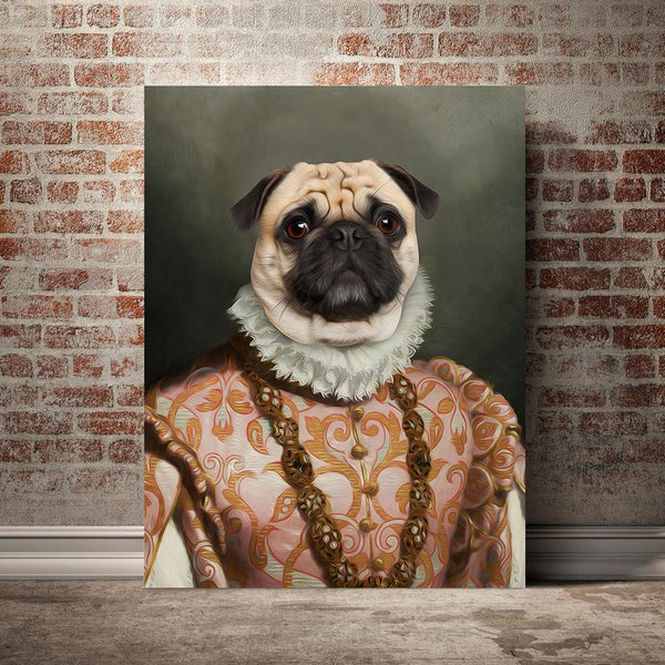 The Marchioness - Custom Pet Canvas